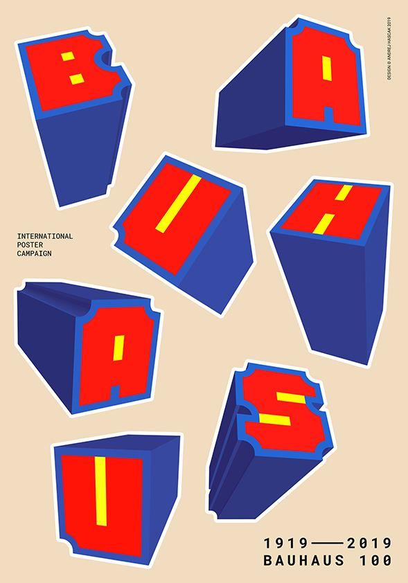 A.Hascak_Poster_70x100cm_Bauhaus_100_2019