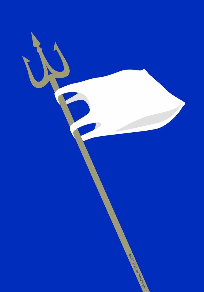 White Flag of Poseidon_Bright Woo